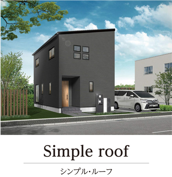 Simple roof
