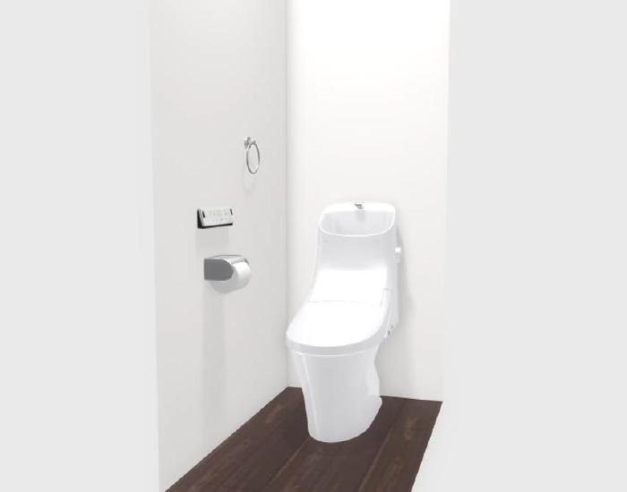 ベーシアシャワートイレ(フチレス)